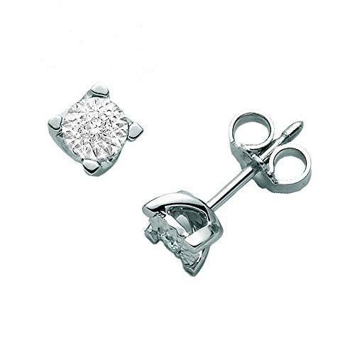 Orecchini Miluna ERD2377 Oro 750/1000 con diamanti