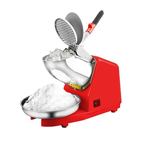 El uso de un rascador doble aumenta en gran medida la eficiencia de trituración y satisface las necesidades de uso comercial, con un peso de trituración de hasta 187 lbs / hr. Una función de la categoría alimenticia no corrosivo tolva de acero inoxid...