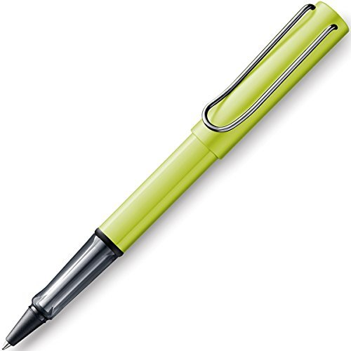 Lamy 1230065 Al-Star charged green Tintenroller 352 - M grün