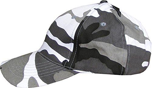 Gorra de béisbol militar para hombre con visera DPM Desert Camo UTP, gris urbano