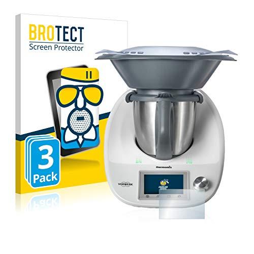 BROTECT Protector Pantalla Cristal Mate Compatible con Vorwerk Bimby TM5 Protector Pantalla...