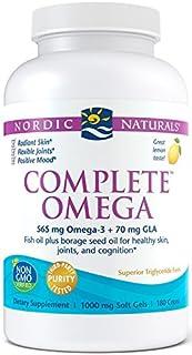 Nordic Naturals Omega Completo, 565 Mg De Limón - 180 Cápsulas Blandas 180 Unidades 300 g