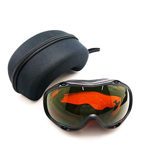 MCWlaser Occhiali di protezione laser Safty Occhiali 190-540 e 800-1700nm tipici per 355nm 405nm 445nm 450nm 473nm 520nm 532nm 808nm 980nm 1064nm Tipo di assorbimento EP-1 Stile 10