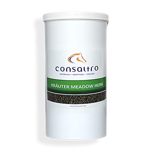 consaltro KRÄUTER MEADOW HERB - 1,5kg - Hustenkräuter mit beruhigenden und schleimlösenden Eigenschaften bei Husten und Schnupfen
