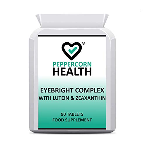 Eyebright Complex, with Lutein & Zeaxanthin. 90 Tablets, Food Supplement.