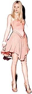 Kuku - Up Front & Personal Dress (KU00293 - Peach Size 8)