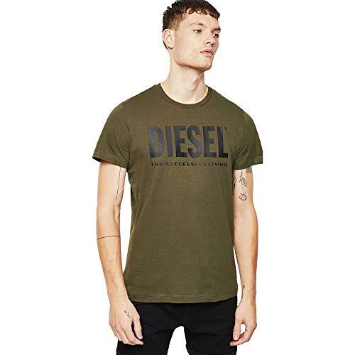 Diesel - Diego Logo Camiseta, Caqui