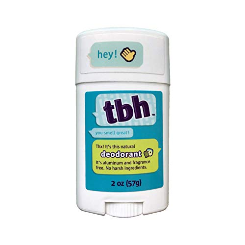 TBH Kids Deodorant - Kids Deodorant Boys and Girls - Made Without Aluminum & Parabens - Works For All Skin Types