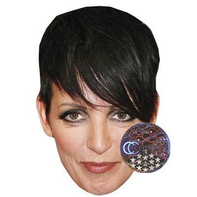 Celebrity Cutouts Nena Maske aus Karton
