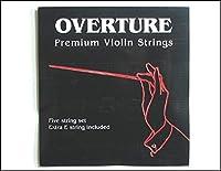 バイオリン弦 オーヴァーチャー Overture 1/32-4/4 全サイズあり 4弦セット(E,A,D,G) (3/4-4/4)