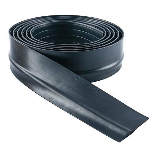 DasMarine Universal Garage Door Threshold Seal DIY Weather Stripping 1/2 inch Thick 16 Feet Length