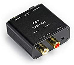 FiiO D3 (D03K) Essential Edition Digital to Analog Audio Converter - 192kHz/24bit Optical and Coaxial DAC - Without AC Adaptor
