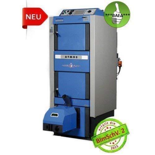 test Kombikessel für Pellets und Holz Atmos DC 30GSP 29,8 kW (einschließlich A25 und Schneckenförderer) Deutschland