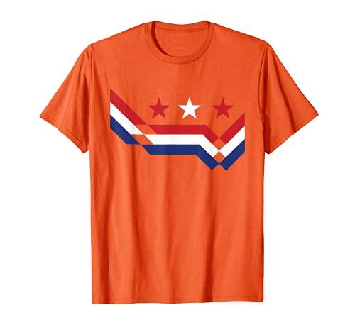 Holanda Fútbol Holanda Holanda Fútbol Deportes Amante Fan Camiseta