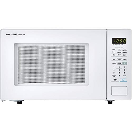 Unknown1 Carousel 1.4 Cu. Ft. Countertop Microwave Oven in White (Ista 6 Packaging) Finish