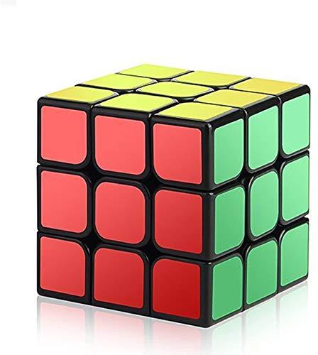 ROXENDA Original Cubo de Velocidad, QiYi Qihang W 3x3 Speed Cube   Giro Fácil y Juego Suave & Sólido Duradero ABS, el Mejor Cubo de Velocidad Puzzle (T4)