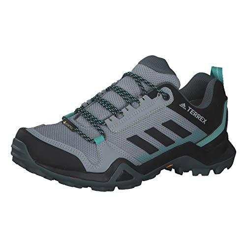 adidas Terrex AX3 GTX W, Zapatillas de Senderismo Mujer, PLAHAL/NEGBÁS/MENACI, 43 1/3 EU
