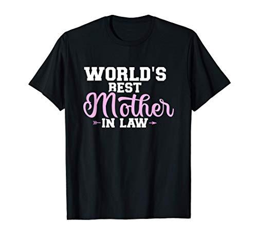 La mejor suegra del mundo Camiseta