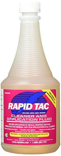 Rapid TAC Application Fluid for Vinyl Wraps Decals Stickers 32oz Sprayer