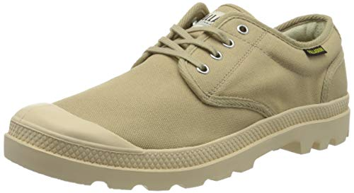 Palladium Unisex-Erwachsene Pampa Ox Orig U Sneaker, Beige (Sahara/Écru F90), 47 EU