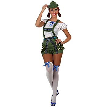 Atosa-10088 Disfraz Alemana, color verde, M-L (10088): Amazon.es ...