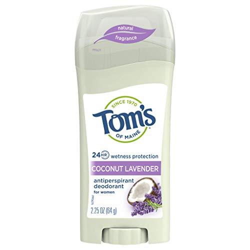 Tom's of Maine Antiperspirant Deodorant for Women, Coconut Lavender, 2.25 oz.