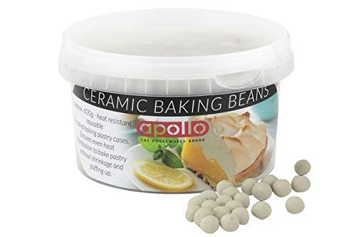 Apollo Baking Beans 600 g, Porcellana, Bianco, 9 cm, 9 x 9 x 11.5 cm