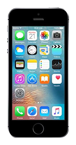 Apple iPhone SE 16GB - Space Grey - Unlocked (Renewed)