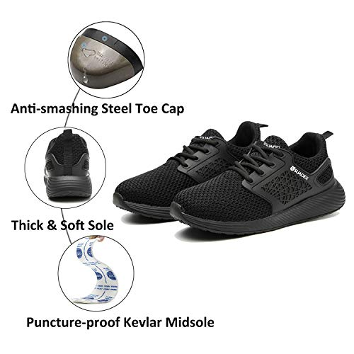 SUADEX Work Safety Shoes For Men Women