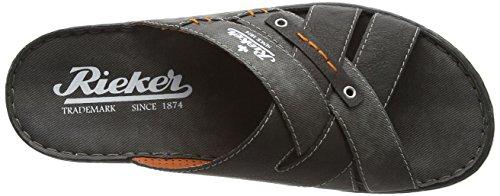 Rieker 21099 Mules & Clogs-Men Herren Pantoletten - 5