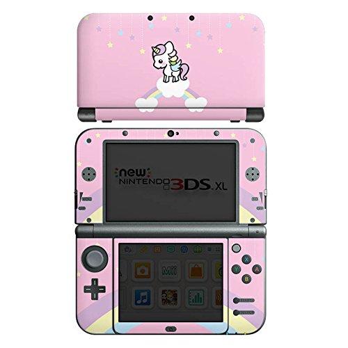 DeinDesign Skin kompatibel mit Nintendo New 3DS XL Folie Sticker Einhorn Unicorn Wolke