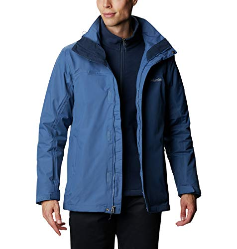 Columbia Herren Mission Air Interchange Jacke, Night Tide, Collegiate Navy, M