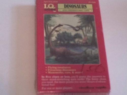 oferta de tienda I.Q. Games Dinosaurs and Prehistoric Life Quiz Card Card Card Game by I. Q. Games  autorización oficial