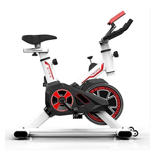 ZIJ Ejercicio Bicicleta Plegable Spinning Pedales Bicicleta Interior Gimnasio for el Entrenador Deportivo casero (Color : Black)