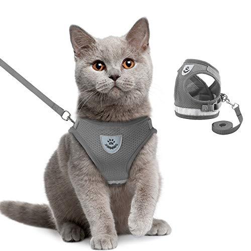 ハーネス 小型犬 oyanten リードセット ネコのハーネス 猫さんぽひも ネコはーねす 猫のリード ハーネス 猫...