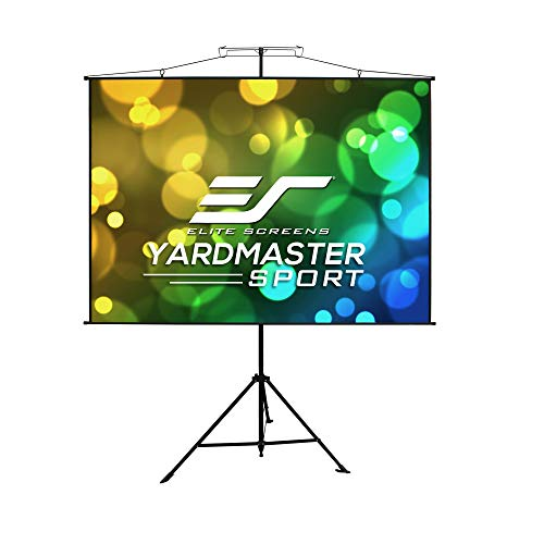 Elite Screens Yard Master Sport, 57 inch 1:1, 2-in-1 Portable Outdoor Indoor Projector Screen Front Projection Carrying Bag, Movie Home Theater 8K 4K Ultra HD Ready, US Based Company 2-YEAR WARRANTY