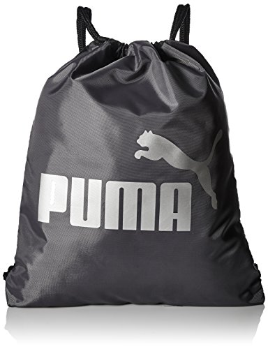 PUMA Boys' Big Evercat Advantage Reversible Carrysack, black/silver, OS