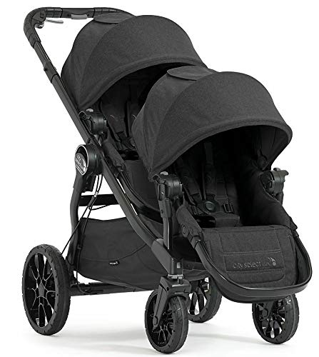 Learn More About Baby Jogger City Select LUX Double Stroller, Granite