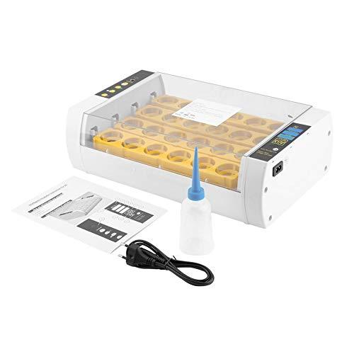 24 Eier Inkubator für Huhn Geflügel Wachtel Truthahn Automatisches Eierdrehen