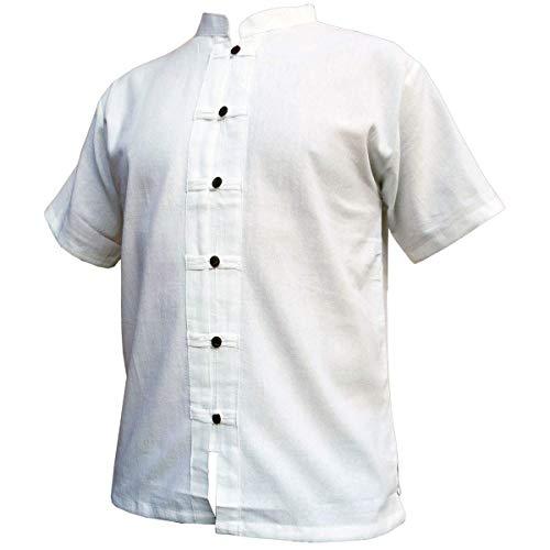 PANASIAM Shirt RZI-01, White, XXXL, shortsl.