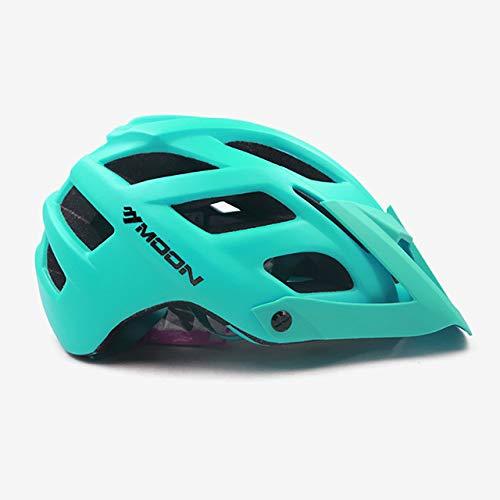 linfei Trail XC Casco para Bicicleta All-Terrai MTB Bike In-Mold Sports Safety...