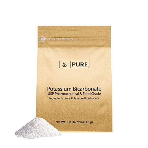 Potassium Bicarbonate (1 lb) Eco-Friendly Packaging, Natural, Food Safe