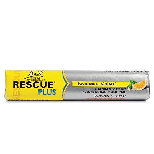 Rescue Plus Cœurs Fondants Vitaminés Orange Sureau - Stick de 10