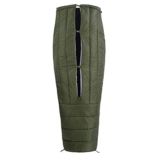 OneTigris Schlafsack Featherlite UL 3-Jahreszeiten Deckenschlafsack 1.0 kg, 200cm x 85cm für Camping, Wandern, sonstige Aktivitäten im Freien |MEHRWEG Verpackung