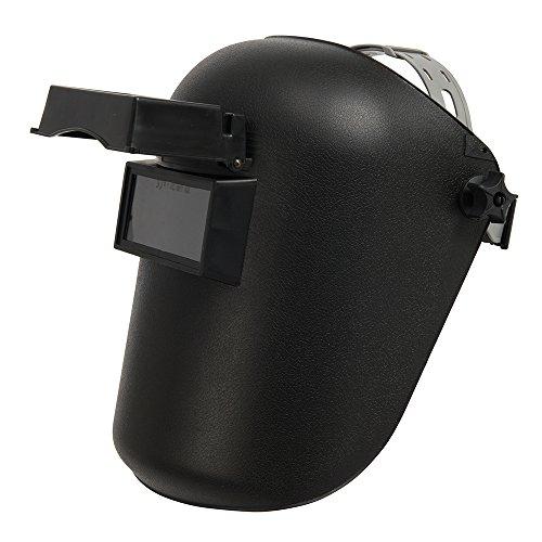 Silverline 868520 - Máscara para soldar con filtro inactínico (Opacidad DIN11 EW)