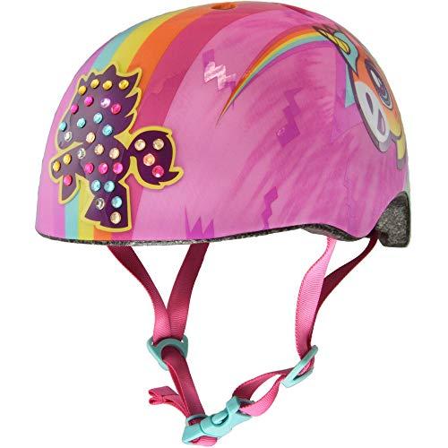 Raskullz Unicorn Bolt LED Helmet, Raskullz Unicorn Bolt LED Multi Child 5+ Helmet, Child Girl, Unicorn Bolt LED, Ages 5+