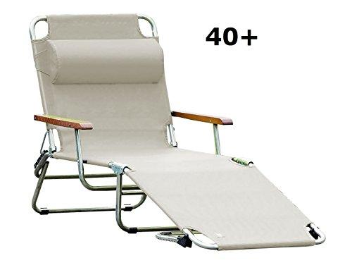 jan kurtz, amigo 40+ mit armlehnen, taupe, sonnenliege, fiam, design Francesco Favagrossa, Gartenliege, Sonnenliege, Pool,