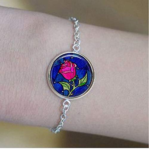 bab Beauty & The Beast with Rose pulseras