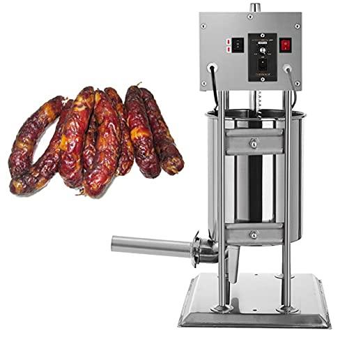 WANYE Equipo de procesamiento de Carne, máquina de Relleno de Salchicha eléctrica, Equipo de llenado de Salchicha Vertical, máquina de llenado de Salchichas de jamón