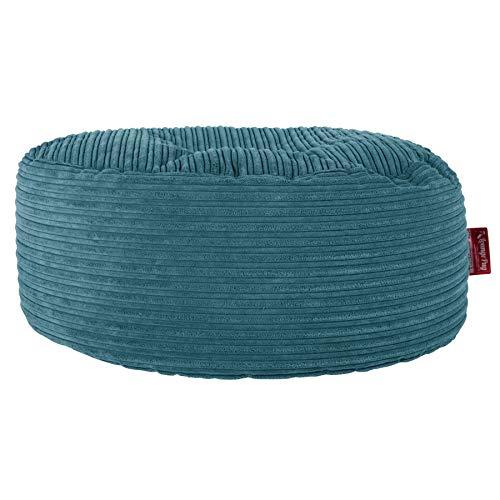 Lounge Pug®, Puff Taburete, Pana Clásica - Egeo Azul